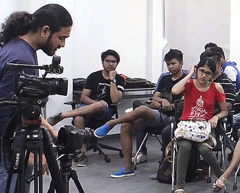 School of Film & Media at Adypu